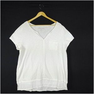 Soft Surroundings Blouse XL Women's Top White
